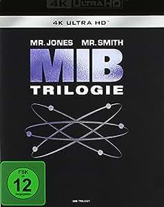 Men in Black 1-3 (4K Ultra HD) [Blu-ray]