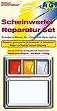 Kit di riparazione fari ATG, trasparente/trasparenti: adatto per luci posteriori su auto, moto o roulotte. Kit di aiuti d'urgenza