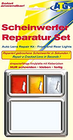 Lens Repair Quick Fix Tail Light Turn Signal and Marker Plastic sheet clear