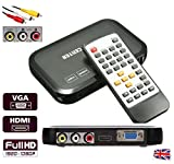 HD Multi Media Player Box Full 1080P Portable, Plays almost all Audio Video