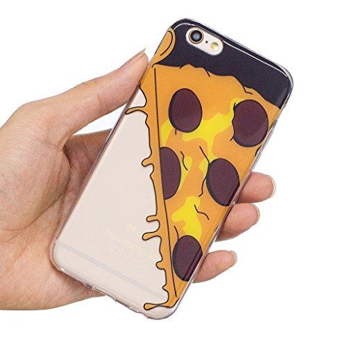 Hülle für Apple iPhone 6S Plus / 6 Plus , IJIA Transparente Niedlich Einhorn TPU Weich Silikon Stoßkasten Cover Handyhülle Schutzhülle Handytasche Schale Case Tasche für Apple iPhone 6S Plus / 6 Plus  WL6