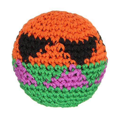Bluelover Outdoor-Spiele Handgemachte Hacky Säcke Footbag Magic Jonglieren Ball Toy Random 5.5 cm