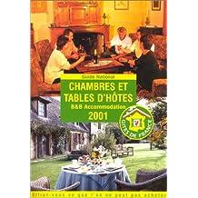 Chambres et tables d'hôtes, 2001