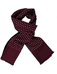 Warrior - Echarpe - Homme Burgundy with Polka Dots Taille Unique
