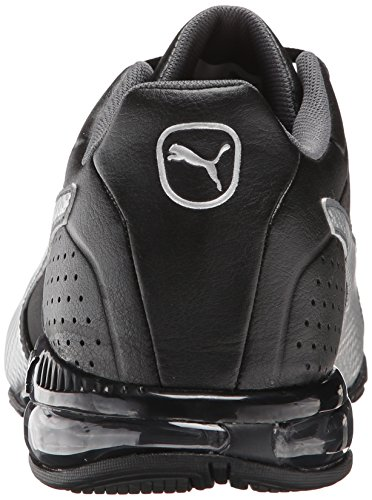Puma cellulaire Surin 2 Cross-training Shoe Black-Silver-Dark Shadow