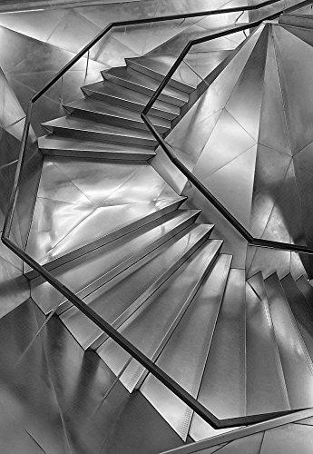 Kunstdruck/Poster: Secundino Losada Stairs CAIXA Forum - hochwertiger Druck, Bild, Kunstposter, 60x85 cm