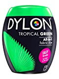 DYLON Machine Dye Pod, Tropical Green, easy-to-use fabric colour for laundry, 350g