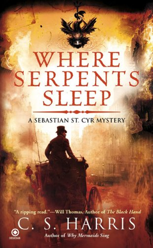 Where Serpents Sleep (Sebastian St. Cyr Mysteries)