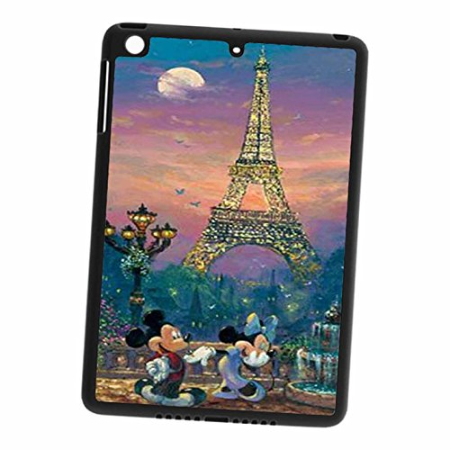 Mickey Minnie At Eiffel Tower Handy hülle iPad 2, 3 & 4,Telefonkasten SchutzHülle (Minnie Ipad 3)