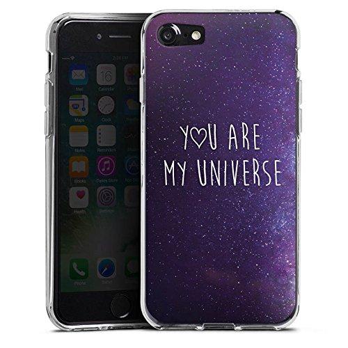 Apple iPhone X Silikon Hülle Case Schutzhülle Spruch Liebe Freundschaft Silikon Case transparent