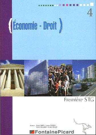 Economie - Droit 1e STG