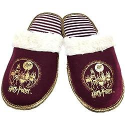 Harry Potter Zapatillas para Mujer, Color Rojo, Talla 38/39
