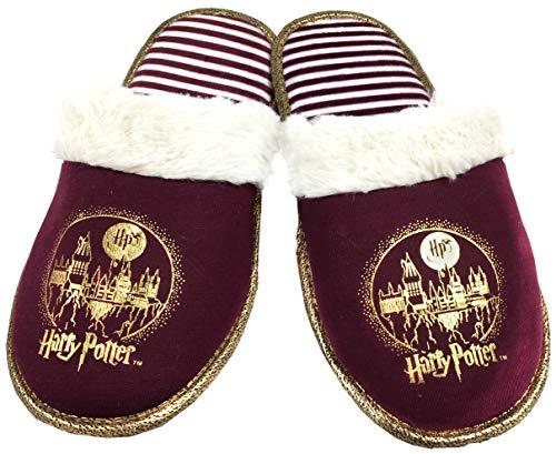 Harry Potter Zapatillas para Mujer, Color Rojo, Talla 36/37