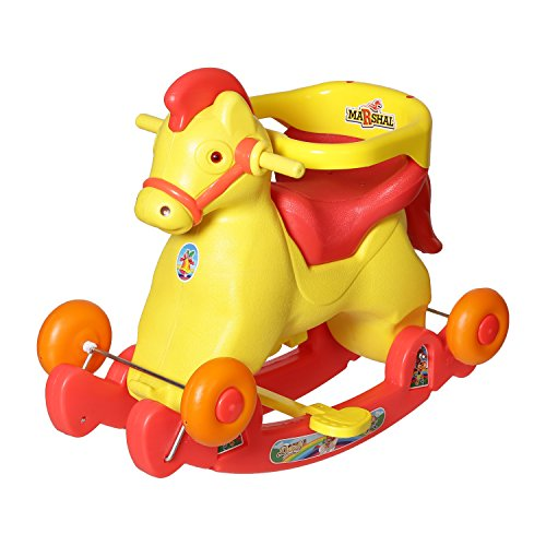 Dash Fashionable 2 in 1 Horse Rocker 'n' Ride on (Red)