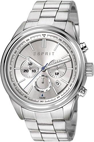 Esprit Herren-Armbanduhr Ray Chronograph Quarz Edelstahl ES107541004