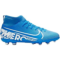 Nike Mercurial Superfly 7 Club MG, Botas de fútbol Unisex Adulto, (Blue Hero/White/Obsidian 414), 44 EU