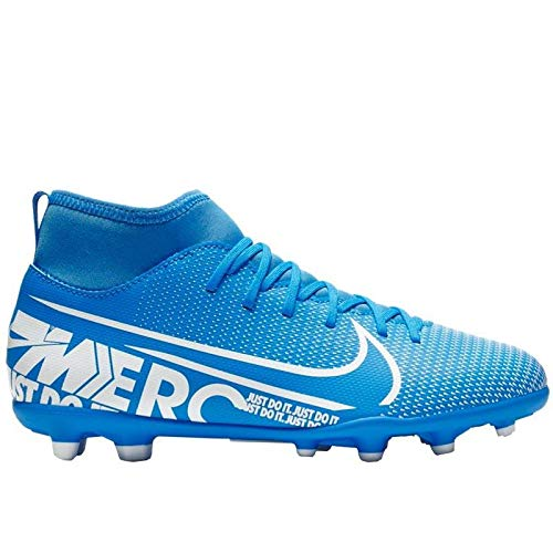 Nike Mercurial Superfly 7 Club MG, Botas de fútbol Unisex Adulto, Multicolor (Blue Hero/White/Obsidian 414), 43 EU