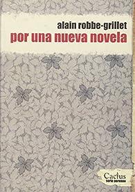 Por una nueva novela par Alain Robbe-Grillet