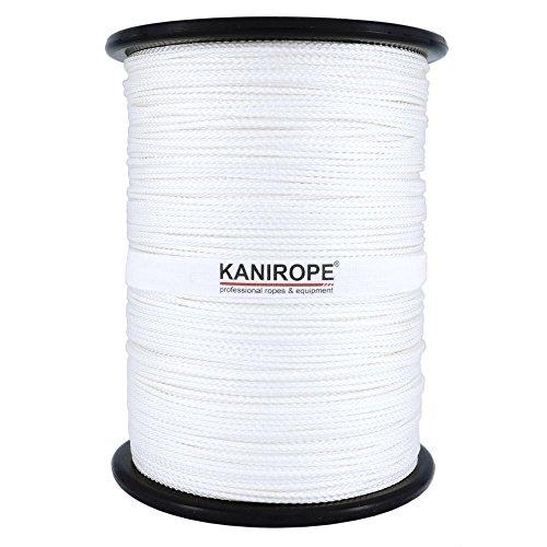 Nylonseil Polyamidseil Seil 2mm 500m geflochten Polyamid Perlon Nylon Tauwerk -