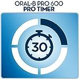 Oral-B Elektrische Zahnbürste Pro 600, mit CrossAction Aufsteckbürste Bild 4