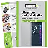 dipos I 6X Schutzfolie matt passend für Sony Xperia XZ Folie Displayschutzfolie
