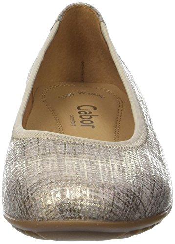 Gabor Comfort, Ballerines Femme Beige (silk 65)