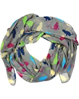 Cats Print Design Large Size Lightweight Soft Scarves for Women