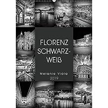 FLORENZ SCHWARZWEIß (Wandkalender 2019 DIN A2 hoch): Idylle und prachtvolle Bauten (Monatskalender, 14 Seiten ) (CALVENDO Orte)