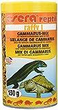 sera 01770 raffy I 1000 ml der Leckerbissen aus naturbelassenen, schonend getrockneten Gammarus (87 %) und Krill für Wasserschildkröten und andere (gelegentlich) Fleisch fressende kleinere Reptilien