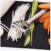 xihewk Hachoir à viande en acier inoxydable pour légumes, broyeur de pommes de terre, outils pour râper à double rabot