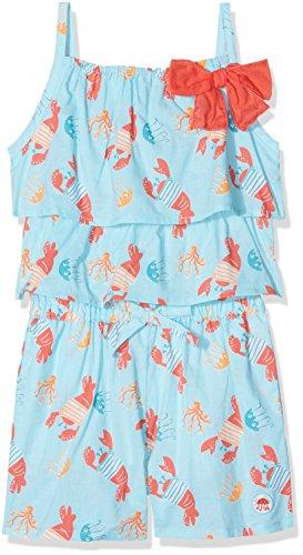 TUTTO PICCOLO Baby-Mädchen Spieler 4376S18 Blau (Aquamarine B41) 92 cm (24Monate) Tutto Piccolo