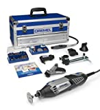 Dremel Platinum Edition 4000-6/128 Corded Multitool (175 W), 6 Attachments, 128 Accessories by Dremel