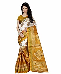 Trendz Style Taffeta Silk Bandhani Print Saree(TZ_1032_B)