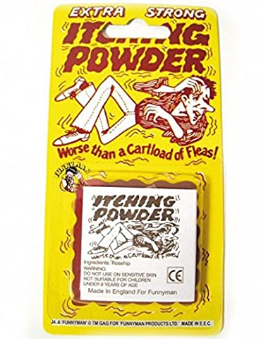 Itching Powder Traditional Novelty Jokes Gags & Tricks, Party Gift Favors & Handouts, Stocking Fillers
