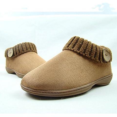 Donne incinte di semplice svago con scarpe di cotone impermeabile in autunnali e invernali modelli , coffee color , 35-36[3-4] mean