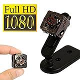 FULL HD MINI Video Kamera | 1080P Miniatur Kamera - geignet als Überwachungskamera sowie als Outdoor Sport Action Cam