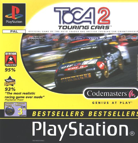 Toca 2 Touring Cars - Bestsellers Playstation 1