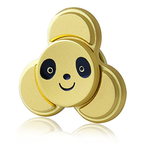 Tri Fidget Hand Spinner,CrazyFire Cute Panda Stress Reducer,EDC High Speed Metal Bearing Finger Fidget for Killing Time,Relieves Stress, Anxiety,Autism