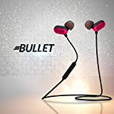 Chkokko Bullet Magnetic Wireless Bluetooth Earphone With Mic (Red)