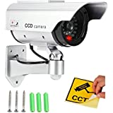 PINDIA CCTV BLINKING LED DUMMY SECURITY WALL CAMERA