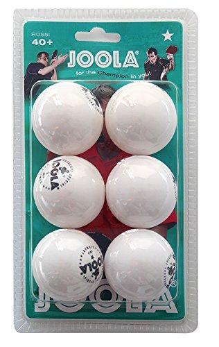 JOOLA Tischtennis-Bälle Rossi 1-Stern 40 weiss 6er gebraucht kaufen  Wird an jeden Ort in Deutschland