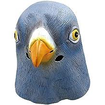 Yxaomite Lusso novità Halloween Costume Ball lattice animale piccione  maschera 523f1d9362d4