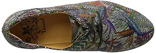 Think Wunda, Scarpe Stringate Donna Multicolore (sz/multi 03)