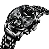 Best Men Watches - Mens Luxury Sports Watches Men Chronograph Waterproof Luminous Review