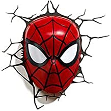 Lámpara de pared 3D SPIDERMAN luz lámparas decorativo - lámpara de pared, 3D SPIDERMAN luz, MSL :-