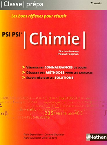 CHIMIE PSI -PSI* CL PREPA 2008