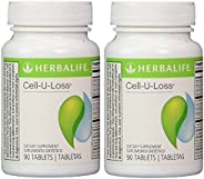 Herbalife Cell-U-Loss® Weight Loss Enhancer Natural Detoxification and Healthy Elimination of Water (2 Bottle)
