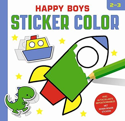 Happy boys Sticker Color (2-3 j.)