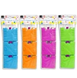 'Set Of 3 Mini Ice Brick Pack Block Blocks Freezer Cooler Bag Box Travel Picnic (assorted Colors)