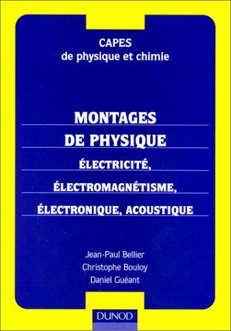 CAPES de physique et chimie : montages de physique, électricité
